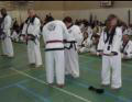 Louise receives her 2nd dan stripe