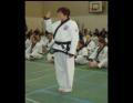 Louise takes the World Tang Soo Do Oath